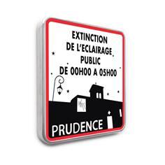 Panneau Extinction de l´Eclairage Public