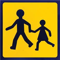 Panneau signalisation transport scolaire