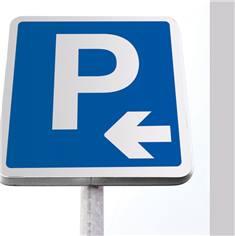 Kit de panneau de parking flèche vers gauche
