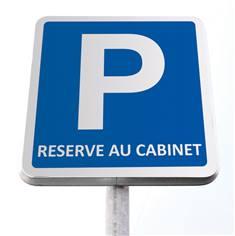 Kit de stationnement réservé au cabinet