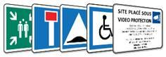 Panneaux indication
