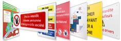 Panneaux de sécurité personnalisés
