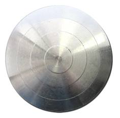 Plots podotactiles Adhésifs en Aluminium - Passage tertiaire