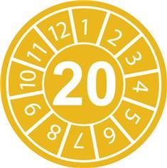 Pastilles calendrier 20