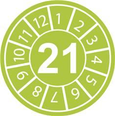 Pastilles calendrier 21