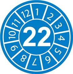 Pastilles calendrier 22