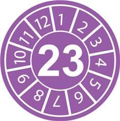Pastilles calendrier 23