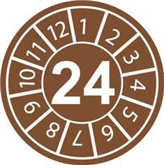 Pastilles calendrier 24