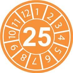 Pastilles calendrier 25