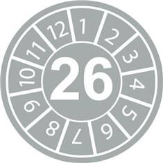 Pastilles calendrier 26