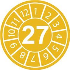 Pastilles calendrier 27
