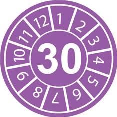 Pastilles calendrier 30