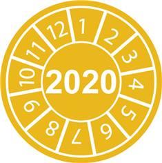 Pastilles calendrier 2020