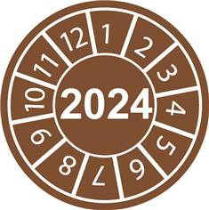 Pastilles calendrier 2024
