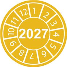 Pastilles calendrier 2027
