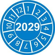 Pastilles calendrier 2029