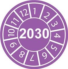 Pastilles calendrier 2030