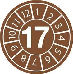 Pastilles calendrier 17