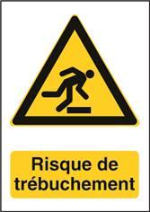 Panneau Danger de Trébuchement - W007F
