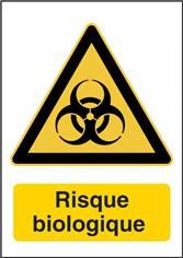 Signalétique Risque Biologique - W009F