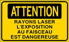 Attention Rayons laser l´exposition ... - STF 3315S