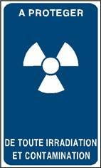 A protéger de toute irradiation et contamination - STF 3321S