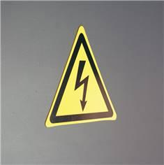 Panneau danger électricité ISO 7010 - W012