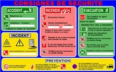 Consignes de sécurité et de prévention