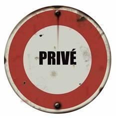 Panneau Privé - PVC 2 mm - Vintage