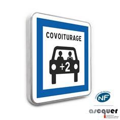 Panneau routier Point de Covoiturage - CE52