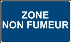Panneau Zone non Fumeur - STF 3608S