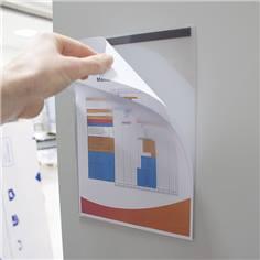 Pochette d´affichage magnétique - lot de 2 Dimension A4