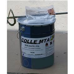 Colle bicomposant pour dalles en méthacrylate - Kit de 8 kg