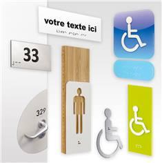 Signalétique Braille et Relief