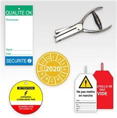 Etiquettes de sécurité