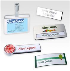 Badges et porte-clés