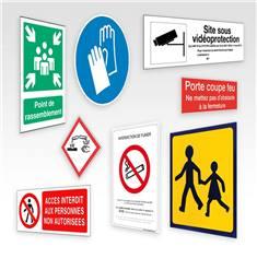 Panneaux de sécurité