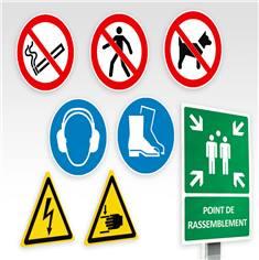 Panneaux et pictogrammes ISO 7010