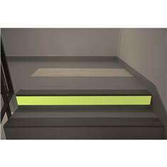 Contremarche Photoluminescente H 10 cm - Intérieur - Rouleau de 10 mètres