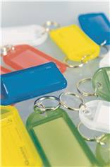 Accessoires Porte-clés plastiques assortis