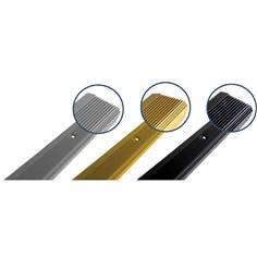 Nez de marche Eco à coller en Aluminium - Intérieur/Extérieur - Longueur 2 mètres