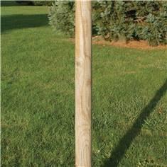 Rondin en bois en Pin Autoclave Classe 4 - Ø 80 mm