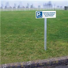 Kit de Panneau de Parking Réservé aux véhicules électriques