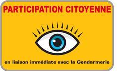 Panneau Participation citoyenne - Type routier Classe 1