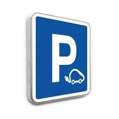 Panneau Parking pour véhicules électriques