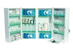 Armoire à pharmacie garnie - 20 personnes