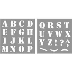 Pochoir Lettres de A à Z