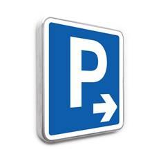 Panneau de stationnement – Parking Flèche à droite