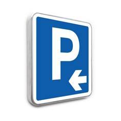 Panneau de stationnement – Parking Flèche à gauche