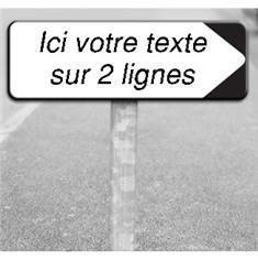 Kit de panneau de parking type D29 - 2 lignes